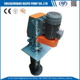 ゴム製縦の酸のスラリーポンプ(100RV-SPR)