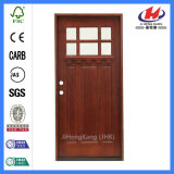 Индийским высеканная интерьером деревянная одиночная дверь панели (JHK-G32-5)