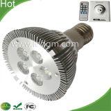 LEIDENE 5With10W van de Huisvesting E26 E27 B22 PAR30 van de Legering van het aluminium Lamp