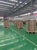 PE/PVDF relieve recubiertos de lámina de aluminio/bobina de material de construcción