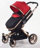 FALTEN-Baby-Spaziergänger des neuen Entwurfs-2017 Luxuxmit Auto-Sitz