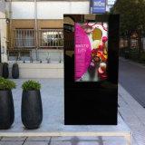 Visualización por encargo de la publicidad al aire libre LCD de la alameda de compras