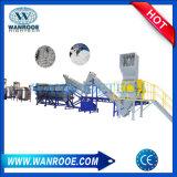 LLDPE/PE/PP/PS de de plastic Machine van het Recycling van de Krimpfolie/Lijn van de Was
