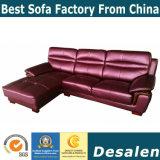 L moderna sofà di figura, sofà di cuoio moderno (A27)
