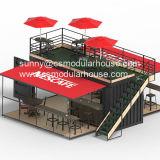 De Container van de Winkel van de koffie/de Modulaire Winkel van de Koffie/de Vouwbare Winkel van de Koffie