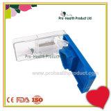 Coupeur en plastique médical Knief de tablette de diviseur de pillule de médecine d'écran protecteur de sûreté de coupeur en plastique de pillule mini