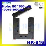 Morsetto-sul trasformatore corrente corrente stupefacente di memoria spaccata dell'uscita 1A/5A di misura di disegno HK-816