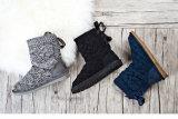 Высокосортный снежок шерстей Boots натянутый лук с ботинками снежка