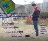 beeld van de Telefoon 3D/2D van 0800m het Mobiele Minerale Detector