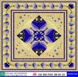 L'art des revêtements de sol à motifs de tapis en dalles de matériaux de construction (VA12P6061, 600x600mm+1200X1200mm)