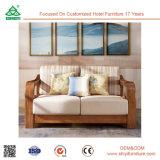 L'ultimo sofà di legno del tessuto della mobilia del salone fissa il nuovo disegno 2017