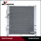 Barre en aluminium et de la plaque du refroidisseur d'huile pour Doosan DH150W-7