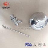 Válvula de esfera sanitária do flutuador da cisterna do tanque de água do aço inoxidável da venda quente