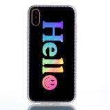 Heißer heller Laser-Telefon-Kasten des Überzug-TPU weicher für iPhone6/7/X/8plus