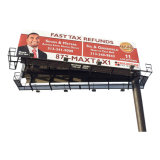 Outdoor Advertisisng/estrutura/Unipole galvanizado personalizada