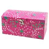 Joyería Caja de papel, tamaño personalizado de verificación de los regalos de Navidad