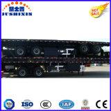 El transporte marítimo de la fábrica 30t 3ejes remolque contenedor
