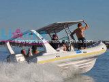 Liya 660 bote inflable rígido de lujo Ocio pasajeros barco Rib