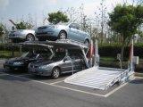 車の駐車上昇を傾ける低い高さ