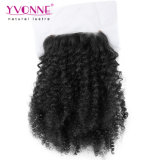 Yvonne cheveux brésiliens de gros de la livraison gratuite 3 offres d'extension et la fermeture Afro Kinky curl