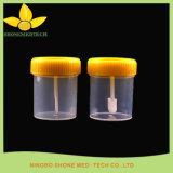 En plastique jetables Steriled 60ml d'urine et les selles de conteneur Conteneur