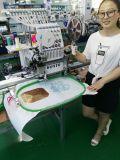 Wonyo 큰 지역 자수를 가진 모자, t-셔츠 및 편평한 자수를 위한 단 하나 맨 위 산업 자수 기계