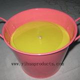 Mayorista de velas de Citronella en caja metálica
