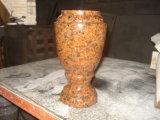 Steen van het Graniet van de tijger de Gele om Vaas voor Vaas van het Graniet van de Verkoop de Chinese
