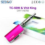거대한 수증기 관례 OEM 도매 Seego Vhit 임금 & Tc 50W 전자 담배 장비