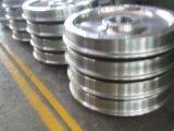 Kundenspezifische CNC-Präzision, die heiße geschmiedete Aluminiumteile maschinell bearbeitet