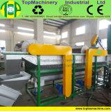 Riga di lavaggio di riciclaggio di plastica della pellicola di agricoltura del sacco della rafia della pellicola del PE pp della macchina