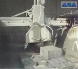 Cortadora de piedra automática del puente del bloque para la piedra sepulcral/el monumento del granito