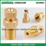 Válvula de cobre amarillo del viento frío de la alta precisión (AV-PV-2010)