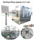 آليّة يغسل يملأ يغطّي 3 [إين-1] وحدة [بوتّل مشن] لأنّ يعبّأ ماء [برودوكأيشن لين]