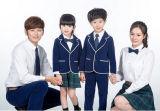 Logo fait sur commande de ressort et de modèle d'uniformes de jardin d'enfants d'uniformes scolaires d'automne