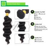 Cabelo brasileiro natural humano do Virgin da onda do corpo do Weave 7A do cabelo