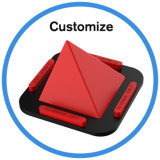 Mutifunction Handy-Tablette PC Pyramide-Kerze-Halter