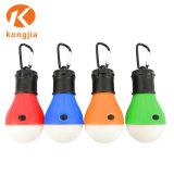 indicatore luminoso di campeggio di Hangingtent della lanterna di figura variopinta della lampadina della lampada 3LED per il campeggio esterno