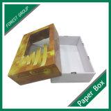 Caixa de empacotamento lisa da fruta com indicador do PVC