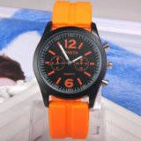 Neue Sport Soem-Form LuxuxGenva Art-kundenspezifische Quarz-Armbanduhr
