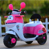 Conduite sur le vélo de moto de gosses/moto électrique de gosses