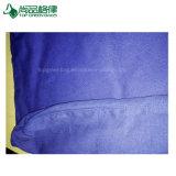 blauer Segeltuchtote-Beutel der Baumwolle10oz, Zoll-Baumwolltote-Beutel 100% mit Reißverschluss