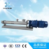 The Food Products, Pharmaceutical에 있는 압력 Stable Sanitary Screw Pump,