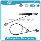 Mola de gás Lockable com cabo e tecla