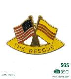 Metal feito sob encomenda EUA & pinos amigáveis nacionais do Lapel da bandeira árabe (XD-0313)