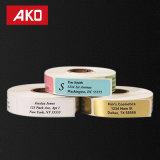 Drucken-Aufkleber-Kennsatz-Form-kundenspezifischer Aufkleber-Kennsatz-thermisches Papier