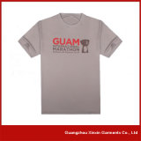 T-shirt 100% du coton de Madame blanche estampée par coutume (R22)