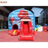 Spiderman Bounce House com Deslize a Caixa Grande Castelo Bouncer insufláveis