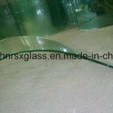 O vidro Tempered 8mm dobrou vidro Tempered curvado Tempered