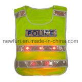 Alta maglia di visibilità del nastro della maglia riflettente di sicurezza per la guida